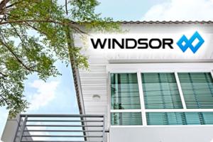 windsor ประตูหน้าต่างยูพีวีซี