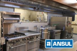 ระบบดับเพลิง ANSUL ในห้องครัว