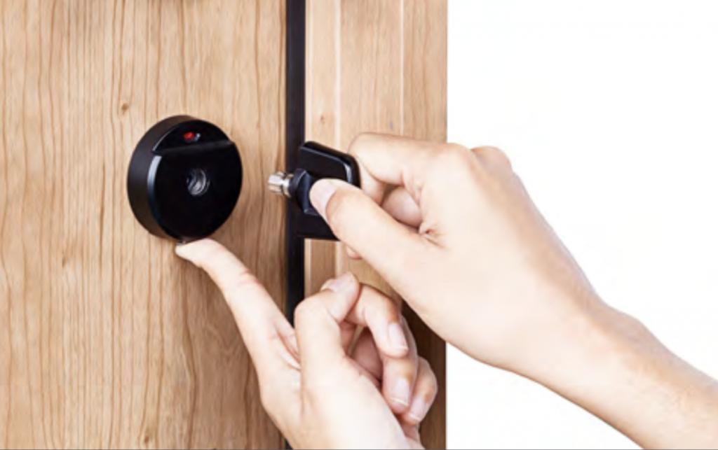 คุณสมบัติ ประตู giesta กุญแจถอดได้ ป้องกันขโมย