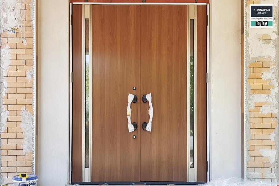 ประตูลายไม้giesta ประตูทางเข้าบ้าน