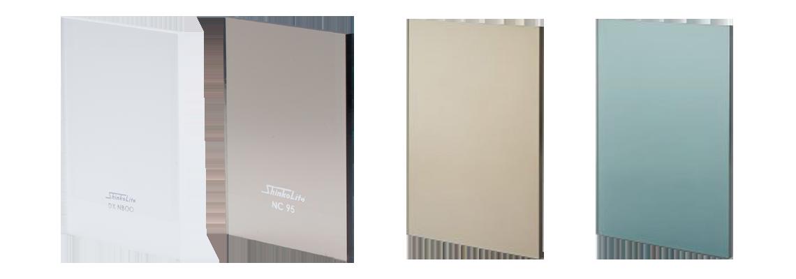 แผ่นอะคริลิค ชินโคไลท์ รุ่น superior nc95 dxnb00