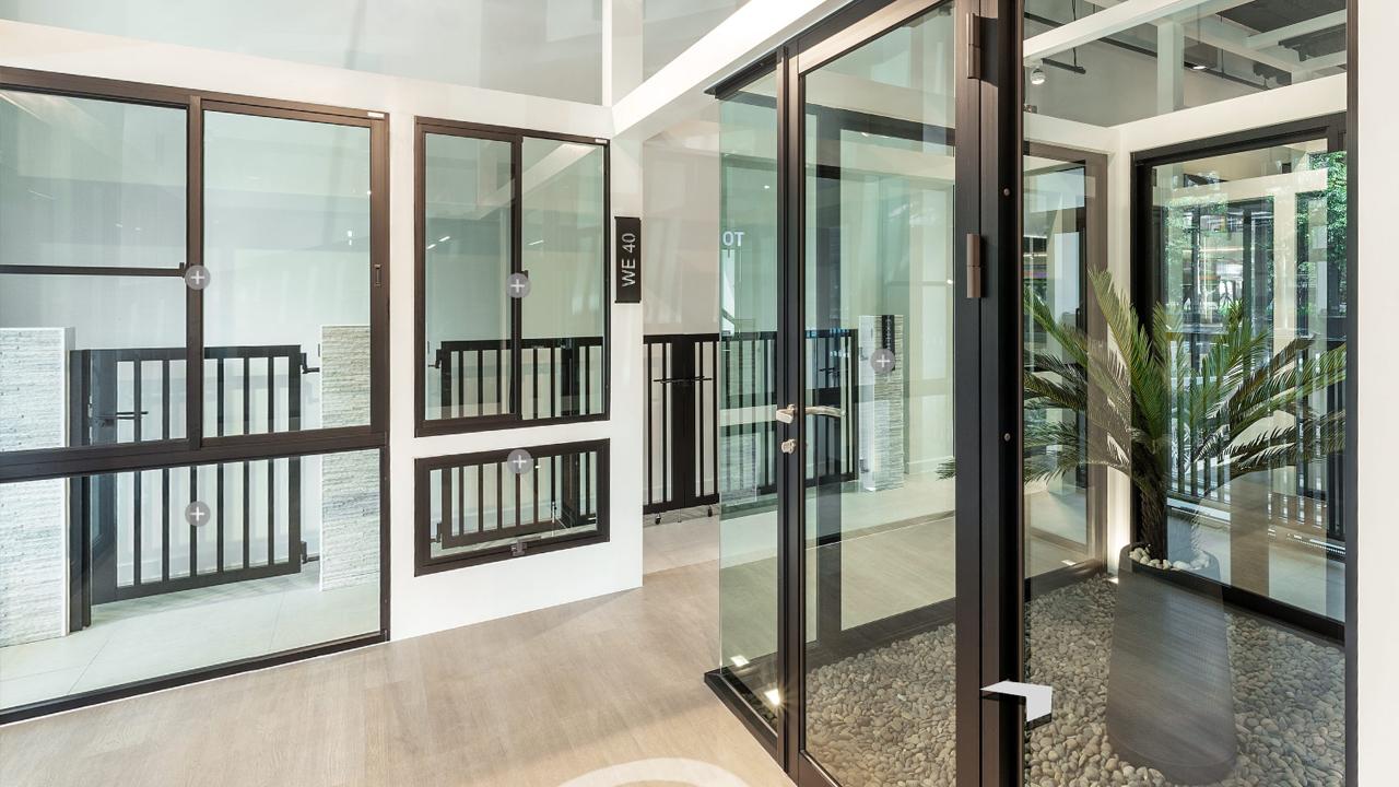 ประตูหน้าต่างสำหรับบ้านพักอาศัย
